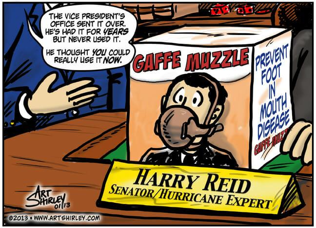 Gaffe Muzzle – Art Shirley Cartoon