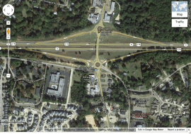 Intersection S. Lamar Blvd. and MS Hwy 6 / Image Courtesy of Google Maps
