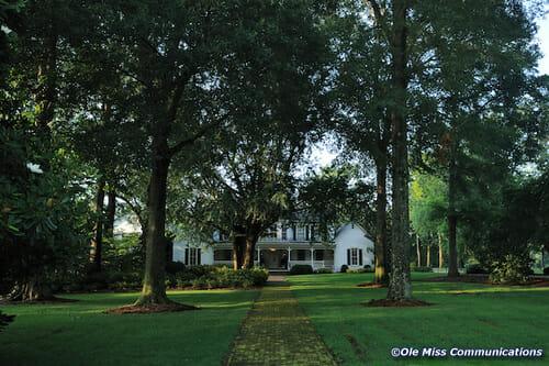 Brandt Memory House / Photo By UM Photographer Kevin Bain