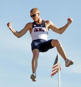Sam Kendricks  Photo by Josh McCoy / Ole Miss Athletics