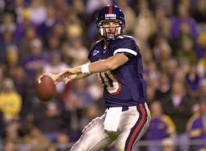 Eli Manning's legendary run at quarterback began in the Music City Bowl back in 2000.