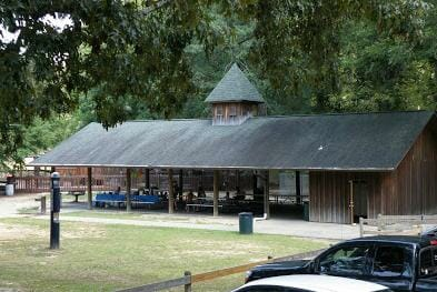 The old pavilion where every Avent's Park kid's earliest memories begin - Photo courtesy OPC