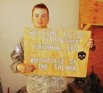 CJ's Taliban Sign