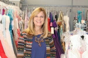 Laura Reid owns Engagements Bridal and Formal Wear on North Lamar and is the mastermind behind the North End Project.