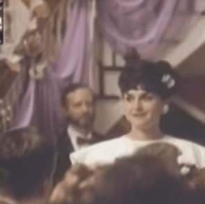 """Larry Wells, with beard at left in the background appeared in the trailer of """"Heart of Dixie"""""""