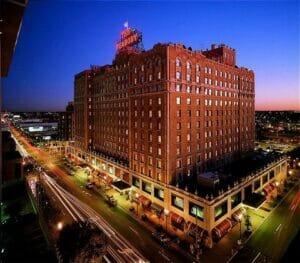 The Peabody Hotel in Memphis, Tenn.