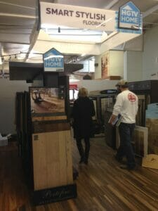 The HGTV Flooring by Shaw showcase at Stout's.