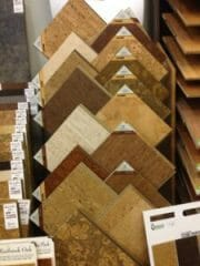 A small selection of the hardwoods in stock at Stout's.