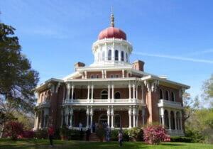 Longwood Mansion in Natchez, Mississippi