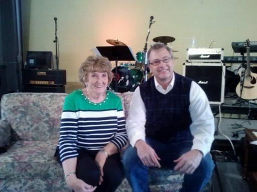 Betty Alexander and Charlie Adams