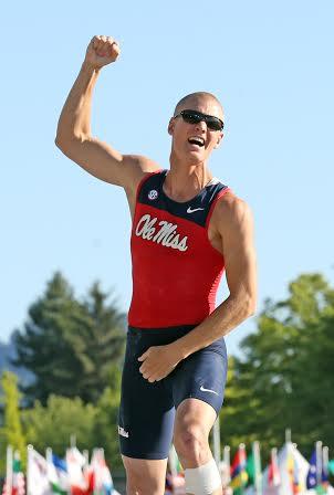 Sam Kendricks / courtesy of Joshua McCoy Ole Miss Athletics