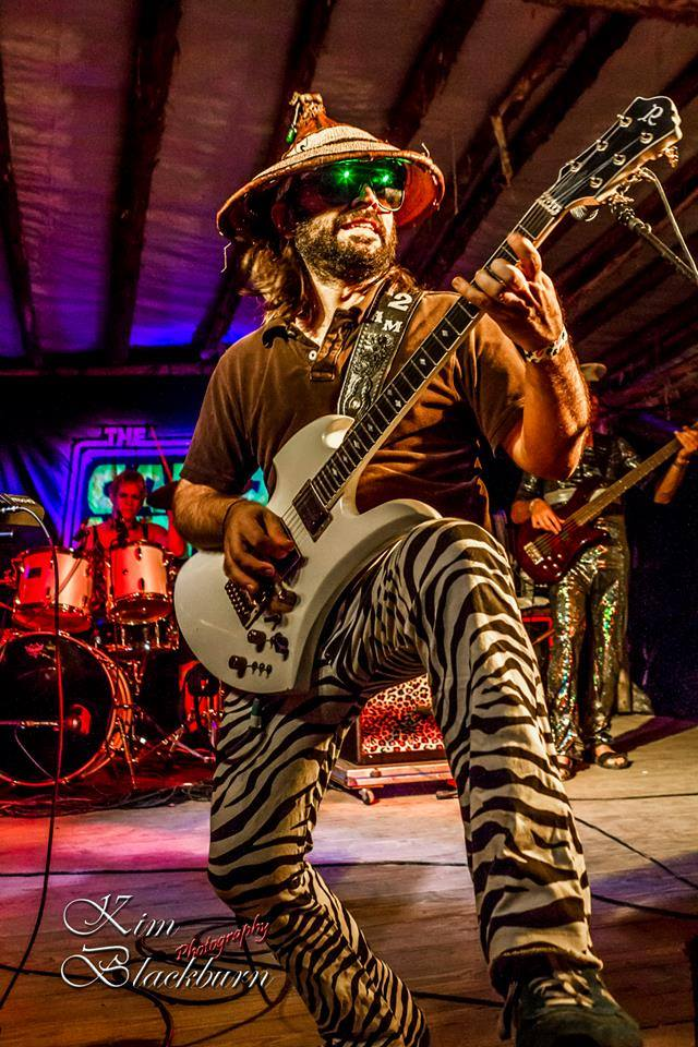 The Captain Midnight Band. Photo by Kim Blackburn Photography.