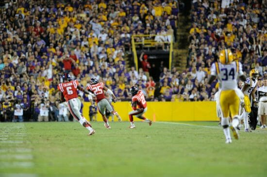 Senquez Golson and Cody Prewitt had strong nights in Death Valley last weekend. / Photo by Amelia Camurati