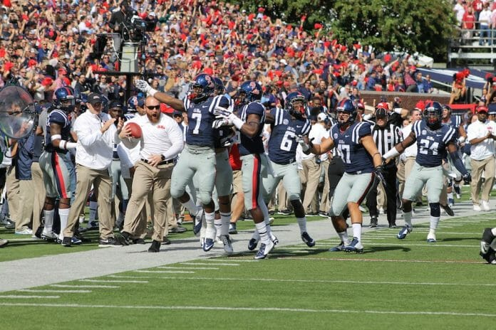 Ole Miss defeated Alabama for the first time since Eli Manning in 2003. / Photo by Amelia Camurati