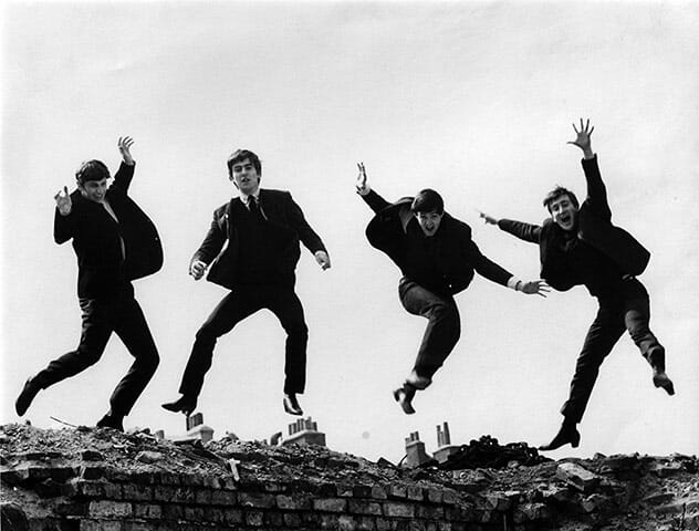 courtesy of The Beatles