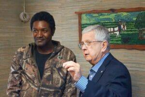 Joe Wrenn and Dr. Ed Meek