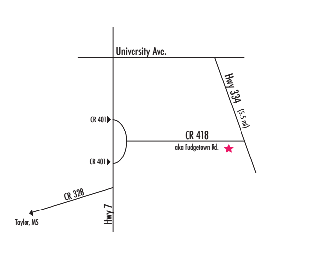 Directions to Oxford Treehouse Gallery