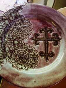Pottery by Jenny Crowson, courtesy via Oxford Flea