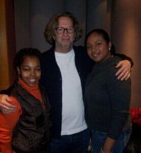 Sharde & Eric Clapton Photo Courtesy of Sharde Thomas