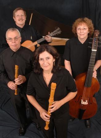 Ron Vernon, Warren Steel,  Irene Kaufmann, Susan Marchant (left to right), courtesy