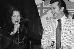 Loretta Lynn and Conway Twitty, photo from Hulton Archives, Getty Images
