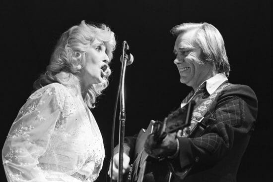 Tammy Wynette and George Jones, photo taken by Kirk West and featured on Kirk West Photography site.