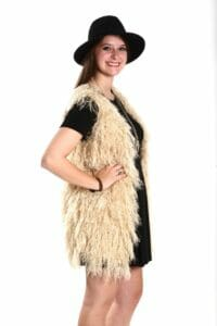 Miss Behaving has a great selection of faux fur vests.