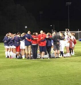 Ole Miss women's soccer beat Auburn 2-0 last night.  Photos by: Kelly Dwyer
