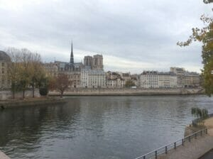 Notre Dame seen from the banks of Seine