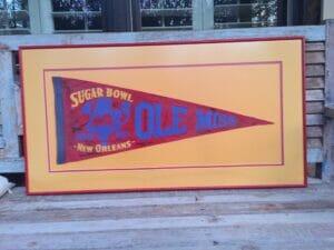 Sugar Bowl pennant from 1955