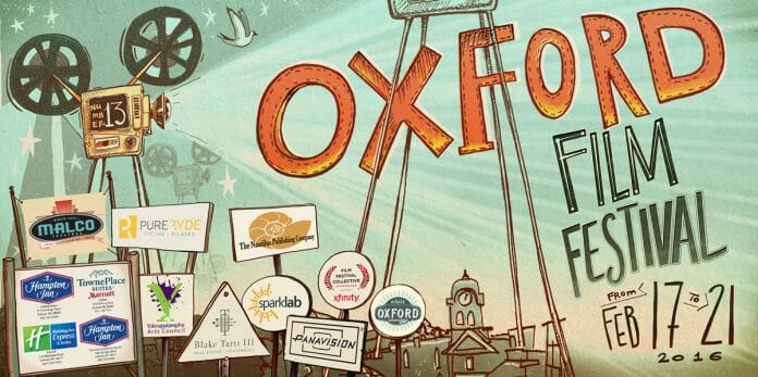 Curtains rise on the 2016 Oxford Film Festival on Wednesday, February 17.