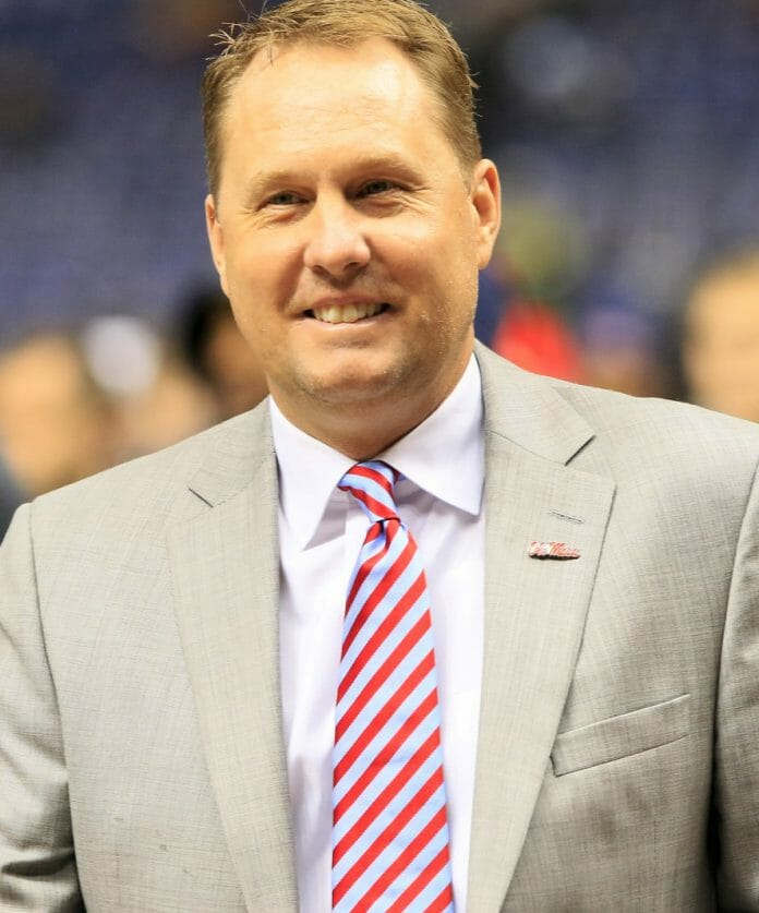 Hugh Freeze Photo by John Bowen