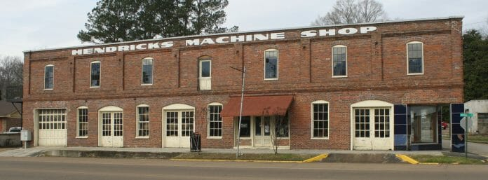 Yalobusha Brewing Co is a commanding fixture in Water Valley, Mississippi. Photo by Jeff McVay