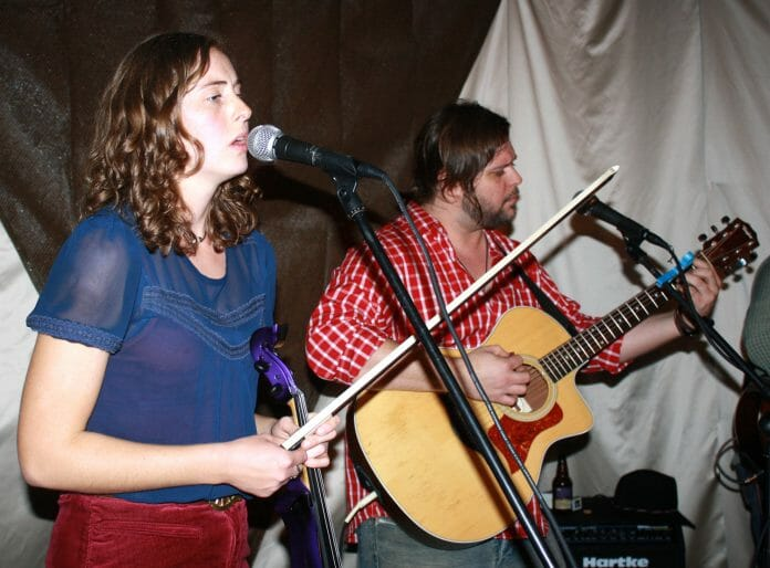 Alice Hasen and Seth Stroud of the Blackwater Trio. Photo by Jeff McVay