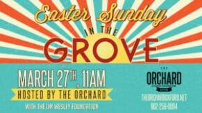 Easter in the Grove