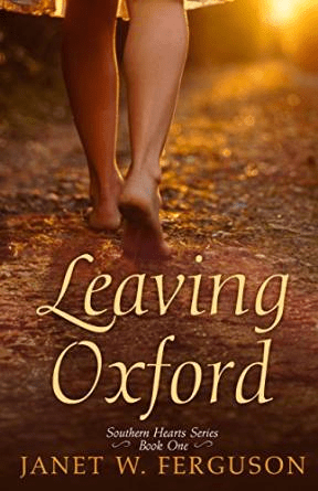 """""""Leaving Oxford"""" is the first of Janet's """"Southern Hearts"""" book series."""