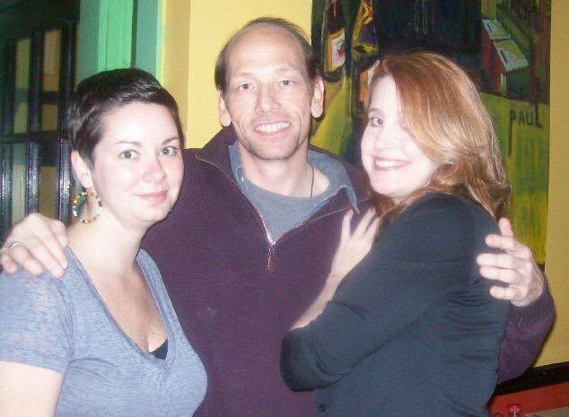Founders of Salt Zine - (left to right) Sarah Beth Riddick, Jimmy Pitts and Laura Cole.