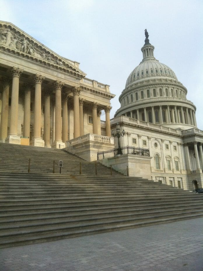 U.S. Capitol building in Washington D.C. (Photo by Laurie Triplette)