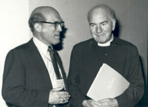 Bishop Gray (left) and his mentor, Anglican theologian and Episcopal priest, Reverend Canon John Macquarrie, 1983 (Photo from EpiscopalArchives.org)