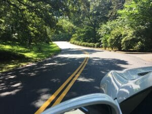St. Andrews Road has been repaved for the first time in a long while, according to the residents.