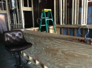 The Summit's new bar is nearly ready!