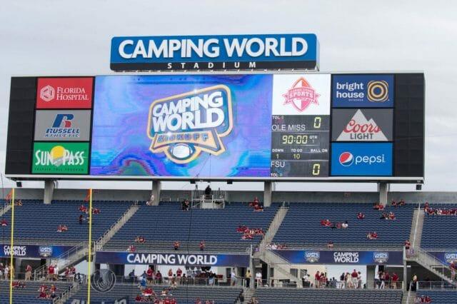 Camping World Kickoff
