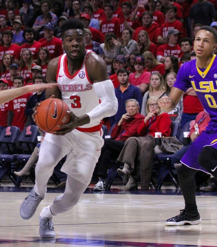 Ole Miss basketball defeats Syracuse to advance in NIT; Terrance Davis scores 30