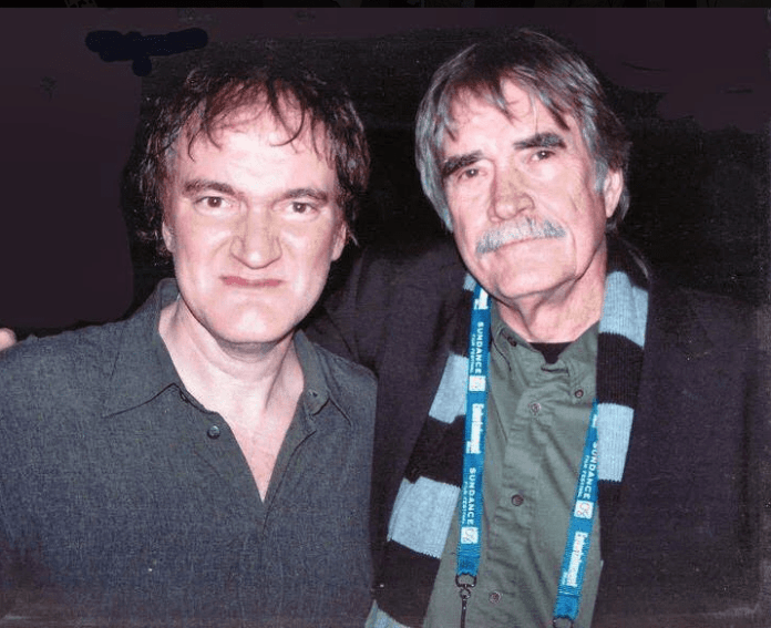 Johnny McPhail with Quentin Tarantino