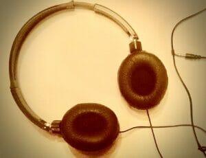 Headphones and cord