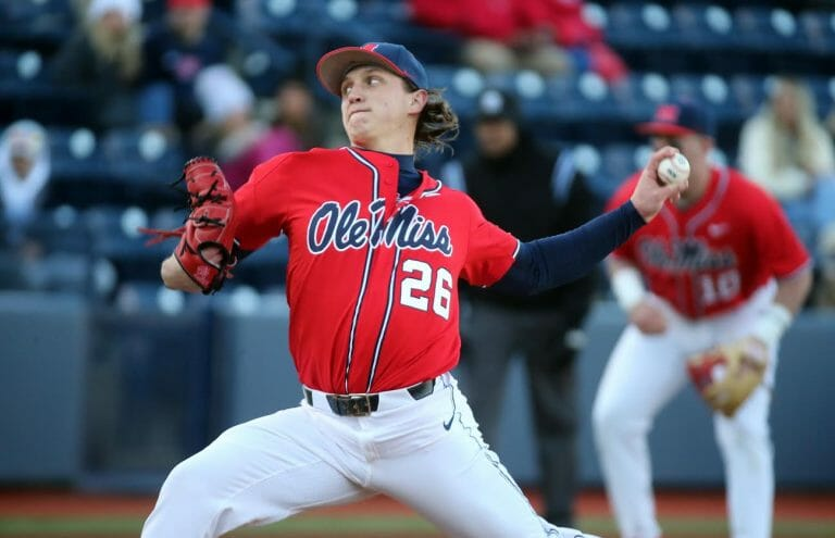 Rebel Pitcher Doug Nikhazy Tabbed with National and SEC Honors