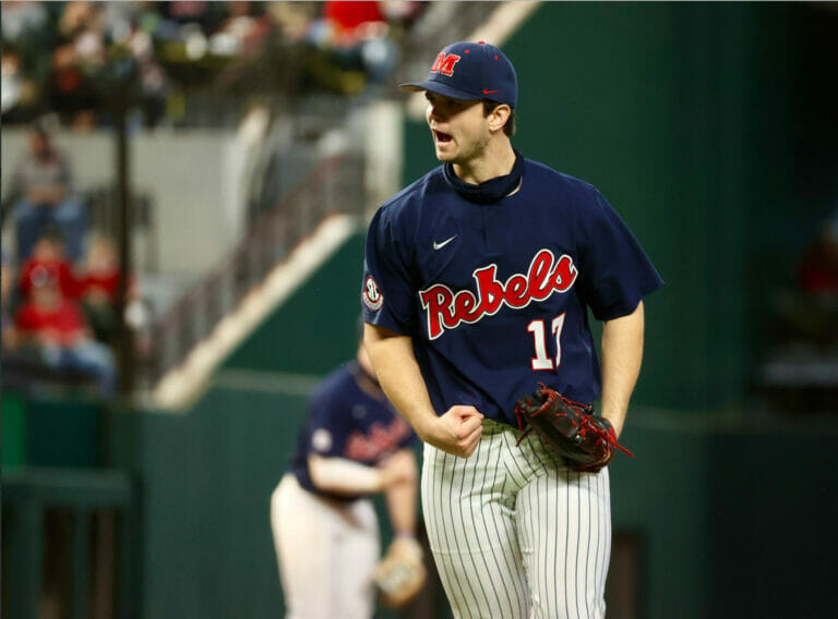 No.6 Ole Miss Falls in Series Opener to In-State Rival Mississippi State