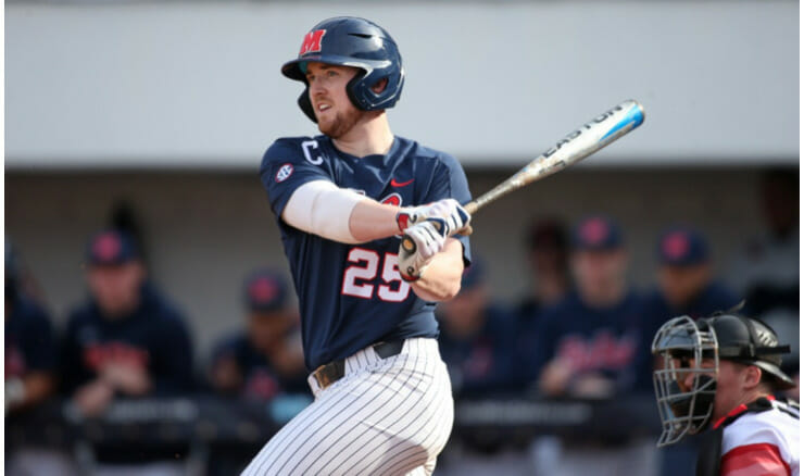 No. 4 Ole Miss Wins Series Sweep Over Belmont
