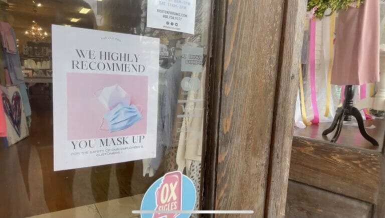 Oxford Businesses Protect Customers and Employees Without Mask Mandate