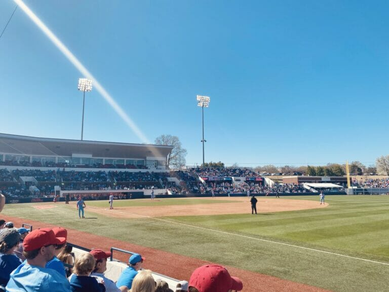 Ole Miss Baseball Players Have More Adrenalin With Fans Back
